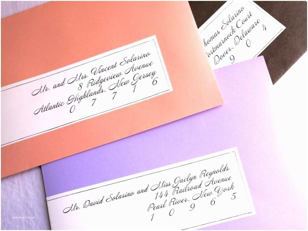 Return Labels for Wedding Invitations Address Labels for Wedding Invitations Cobypic