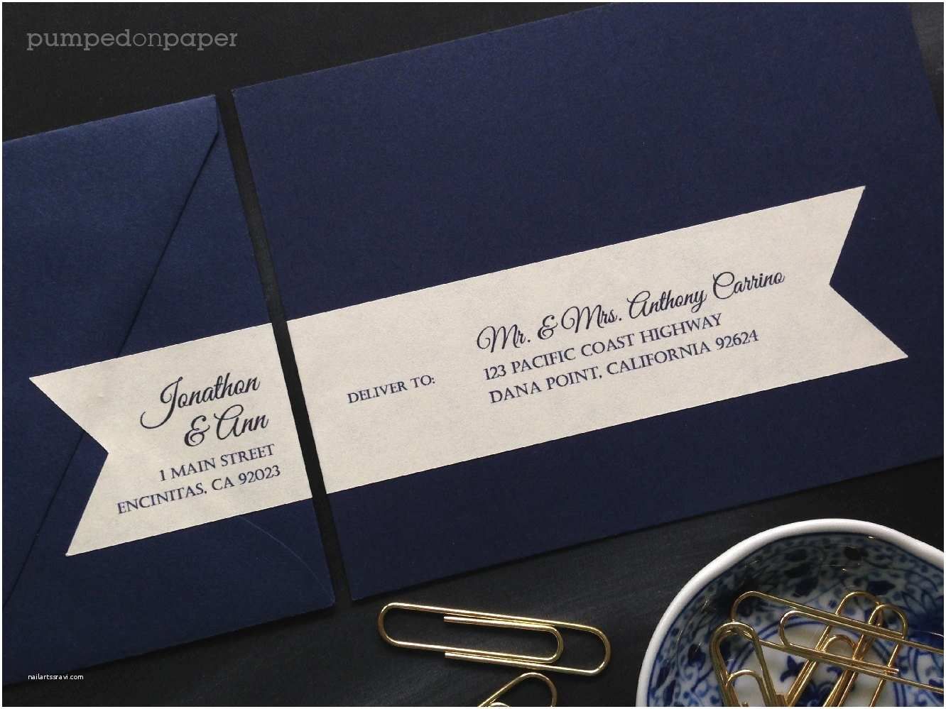 Return Labels for Wedding Invitations Personalized Mailing Address Labels for Wedding Invitations