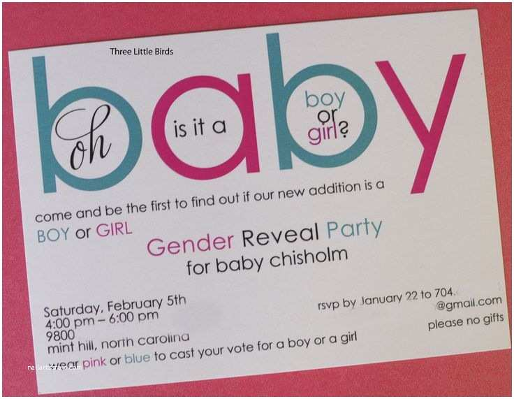 Reveal Party Invitations Gender Reveal Party Gender Reveal Party