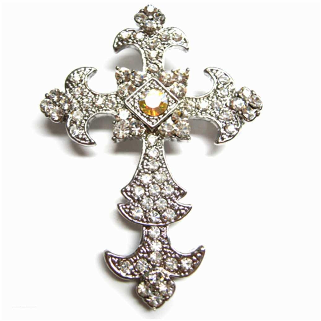 Ribbon Brooch Wedding Invitation Cross Brooch Embellishments Luxury Wedding Invitations Handmade Invitations & Wedding Favors