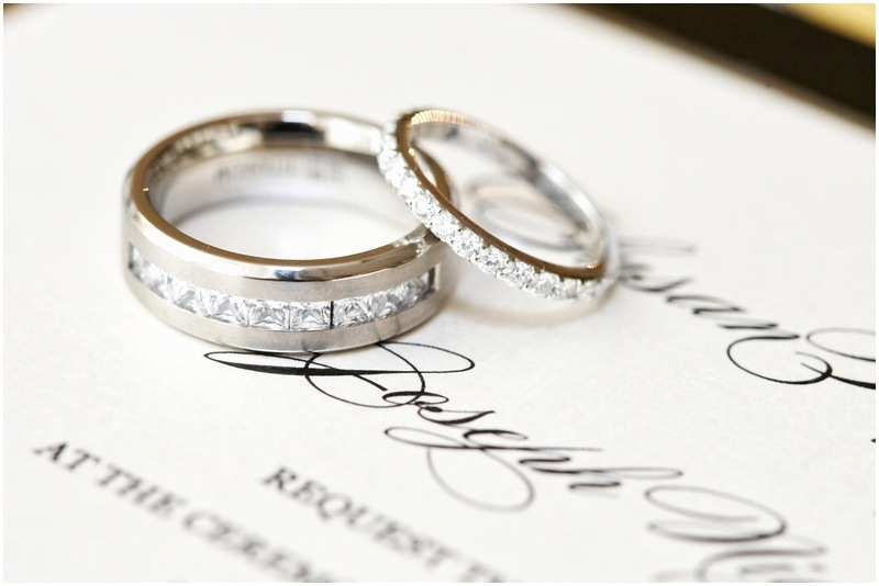 Ring In the New Year Wedding Invite Jewelry S Diamond Wedding Rings On Invite Inside