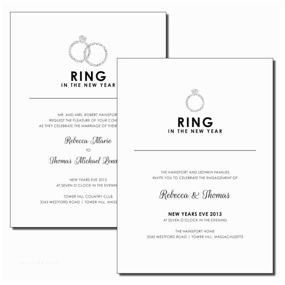 Ring In the New Year Wedding Invite Pinterest Discover and Save Creative Ideas
