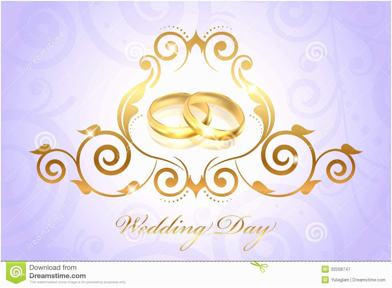 Ring In the New Year Wedding Invite Vintage Style Wedding Invitation with Gold Rings Royalty