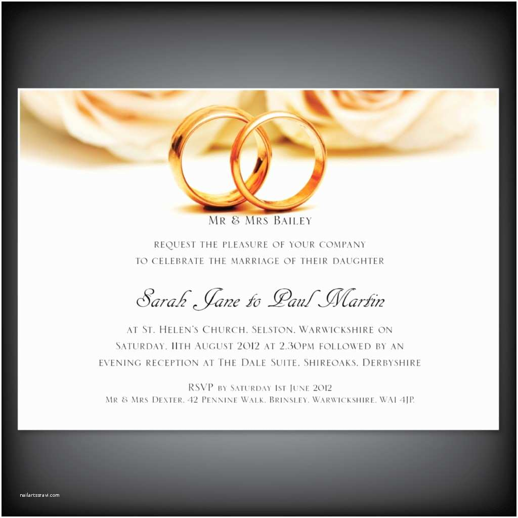 Ring In the New Year Wedding Invite Wedding Ring Invitations Designs Jewelry Ideas