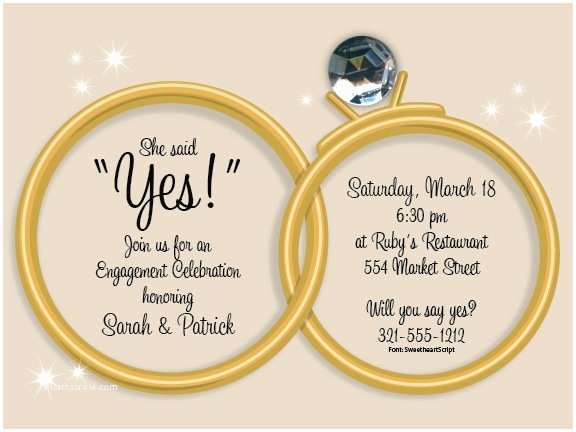 Ring In the New Year Wedding Invite Wedding Rings On Taupe Invitations by Paper so Pretty