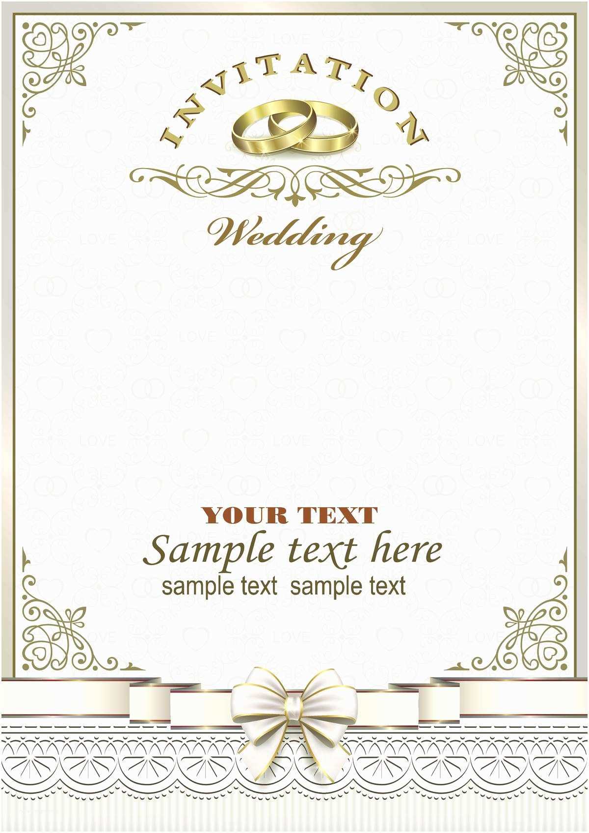 Ring In the New Year Wedding Invite Write the Sweetest Marriage Invitation Wordings to Invite