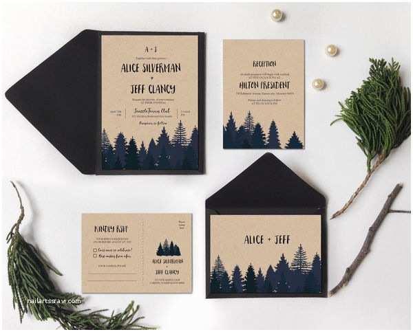 Rocky Mountain Wedding Invitations 10 Winter Wedding Invitations Mywedding