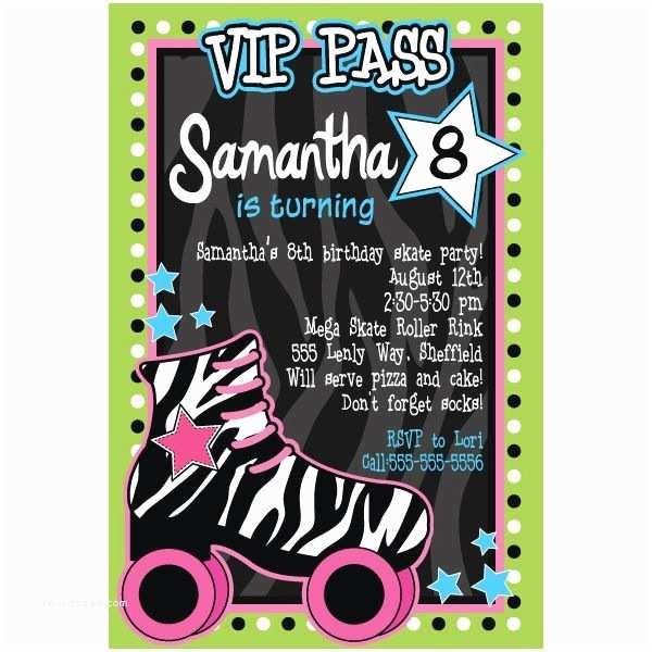 Roller Skating Party Invitations Roller Skating Party Invitation Party Ideas
