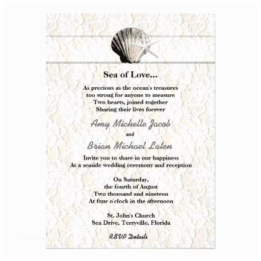Romantic Wedding Invitations Wording Examples 266 Best Beach themed Thank You Card Images On Pinterest