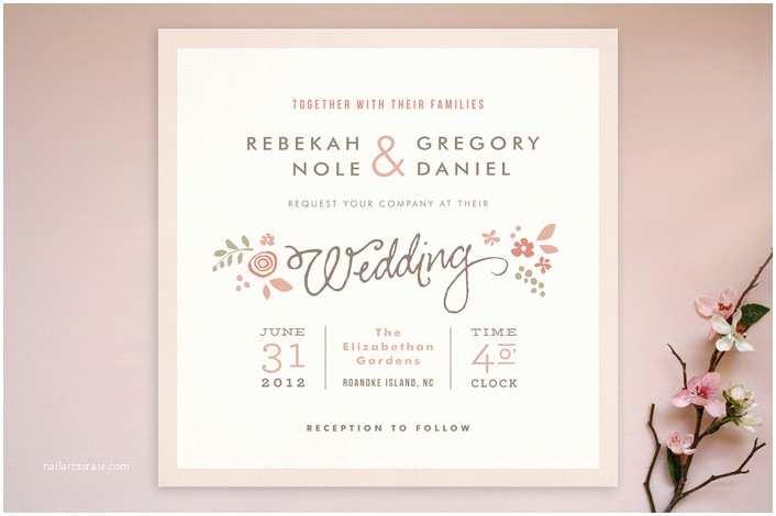 Romantic Wedding Invitations Wording Examples Wedding Invitation Wording Romantic Wedding Invitation Matter