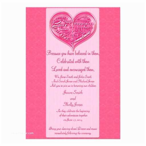Romantic Wedding Invitations Wording Examples Wedding Invitation Wording Romantic Words In Wedding