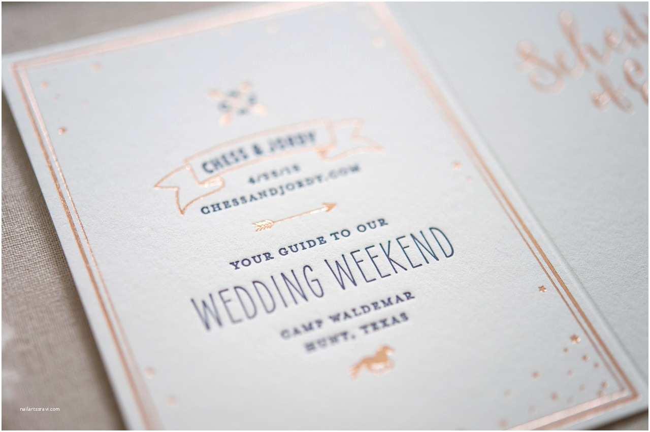 Rose Wedding Invitations Rose Gold Foil Wedding Invitations
