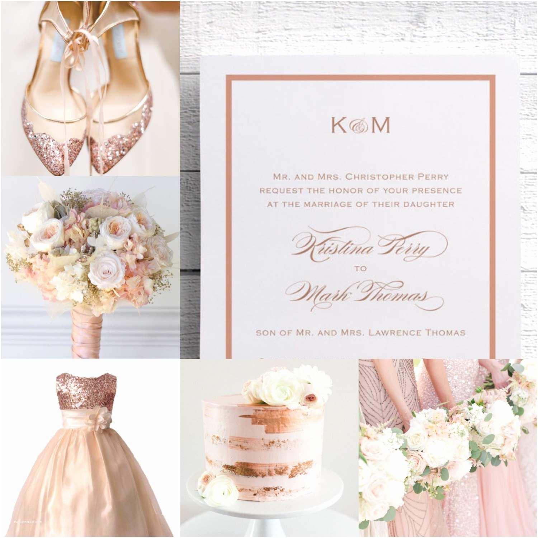 Rose Wedding Invitations Rose Gold Wedding Invitations Rose Gold Invites Pink