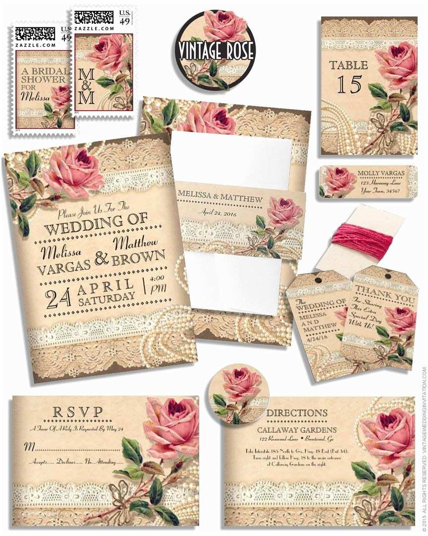 Rose Wedding  Vintage Rose Wedding