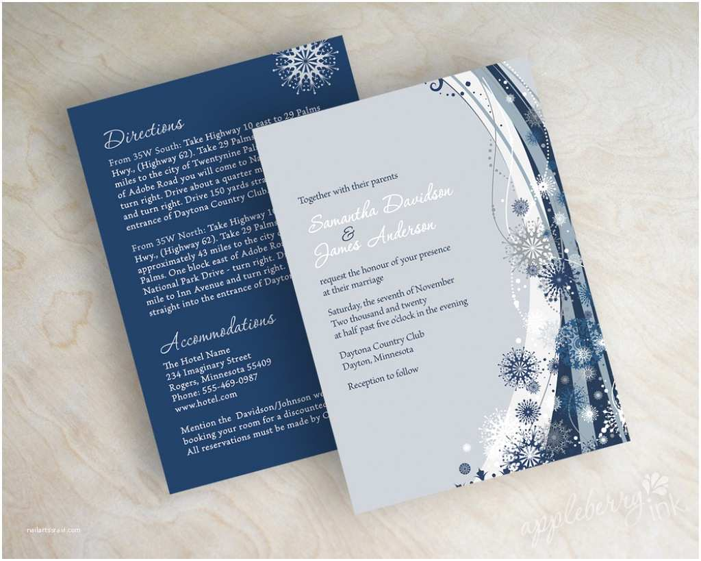 Royal Blue and Black Wedding Invitations Navy Blue Wedding Invitation Kits Diy Wedding Invitations