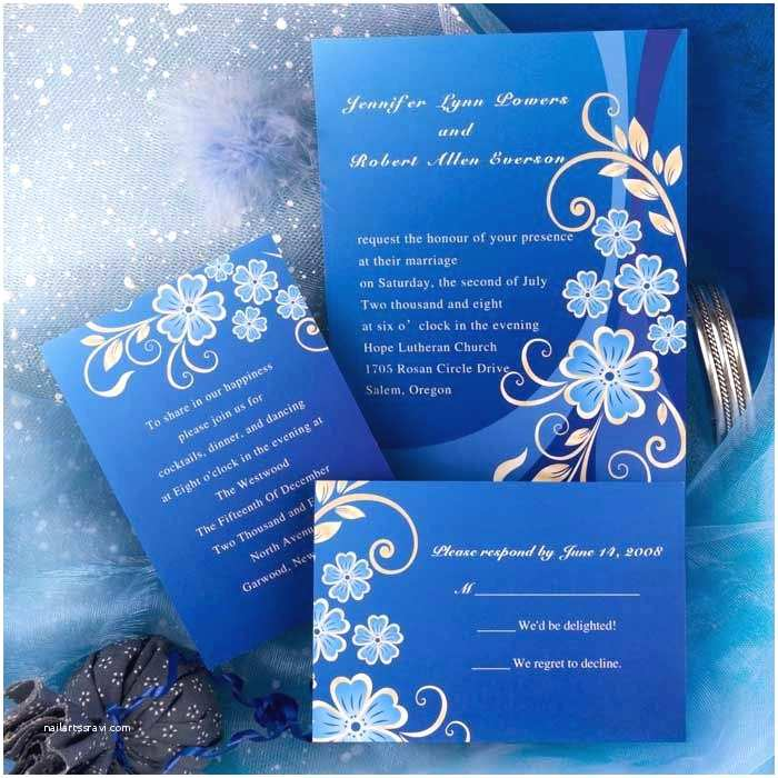 Royal Blue and Black Wedding Invitations Royal Blue and Black Wedding Invitations – Meichu2017