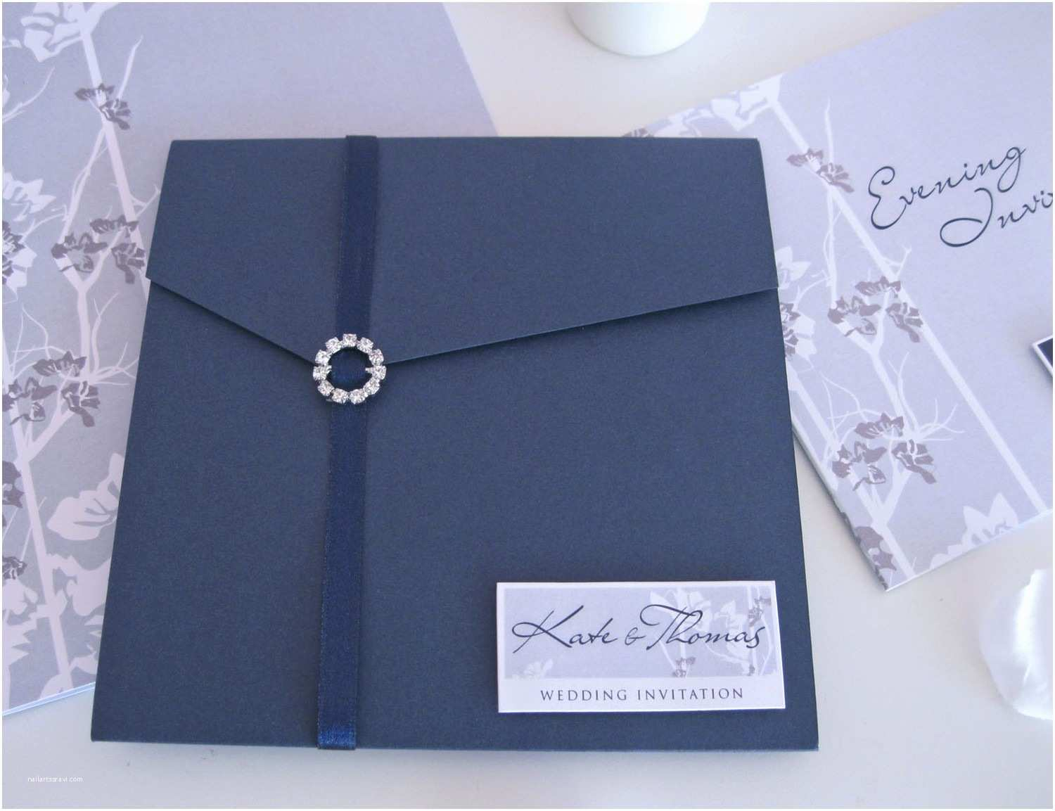 Royal Blue and Black Wedding Invitations Royal Blue and Black Wedding Invitations Yourweek