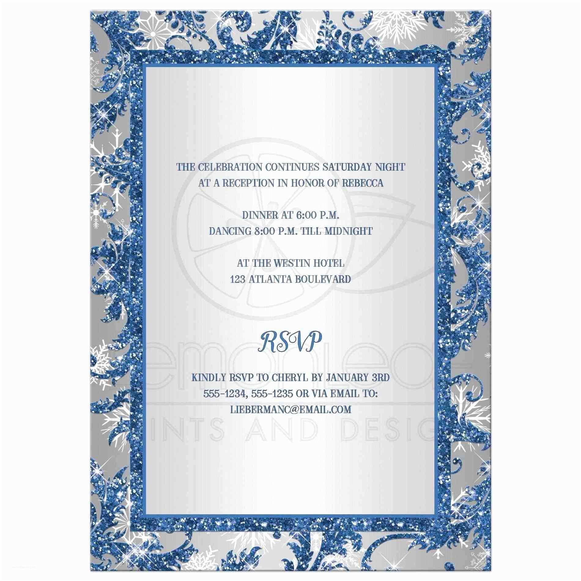 Royal Blue and Black Wedding Invitations Royal Blue and Silver Wedding Invitations Siudy