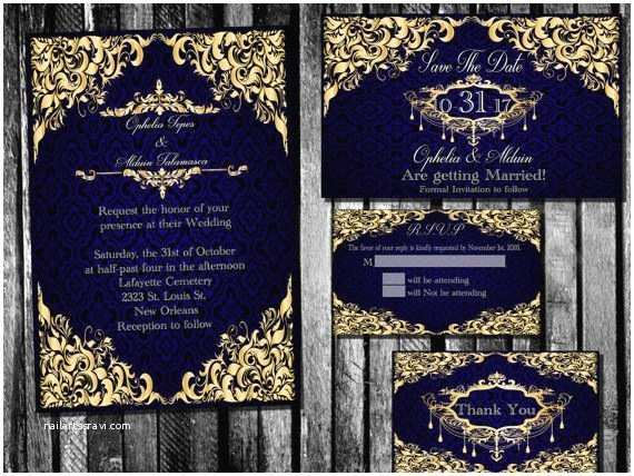 Royal Blue And Gold Wedding Invitations Best 25 Blue Gold Wedding Ideas On