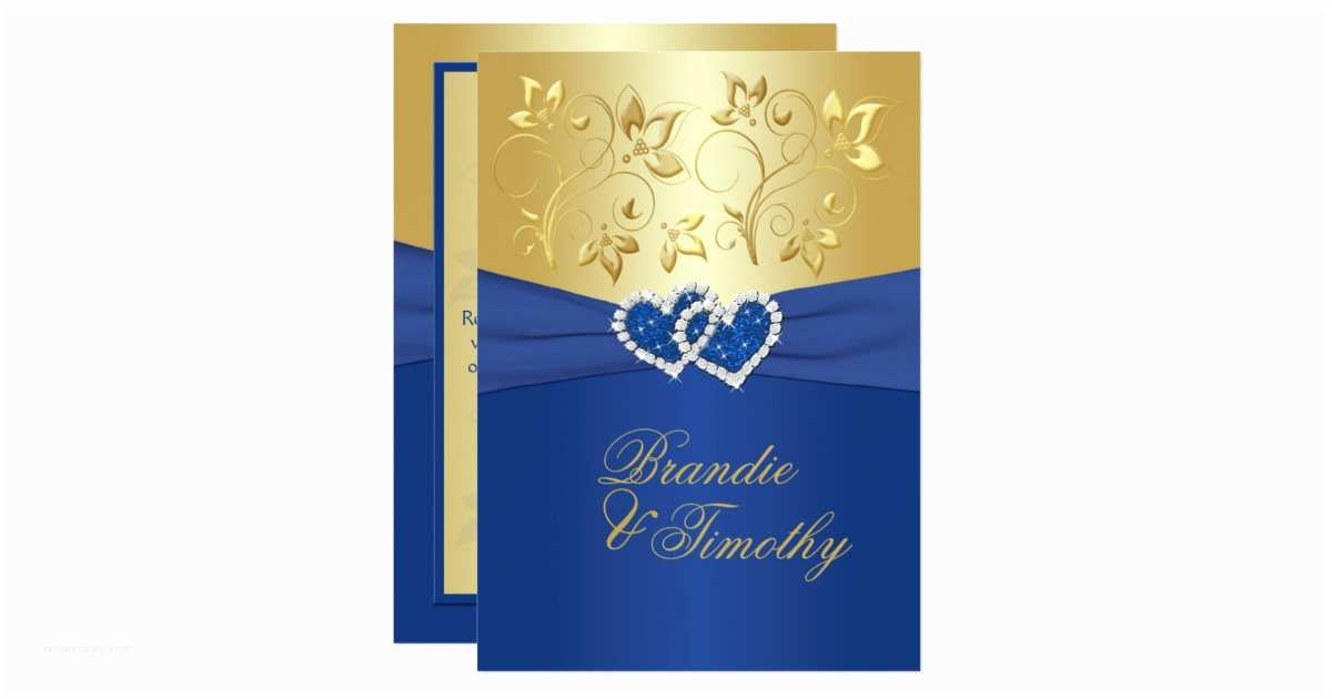 Royal Blue And Gold Wedding S Royal Blue And Gold Floral Wedding