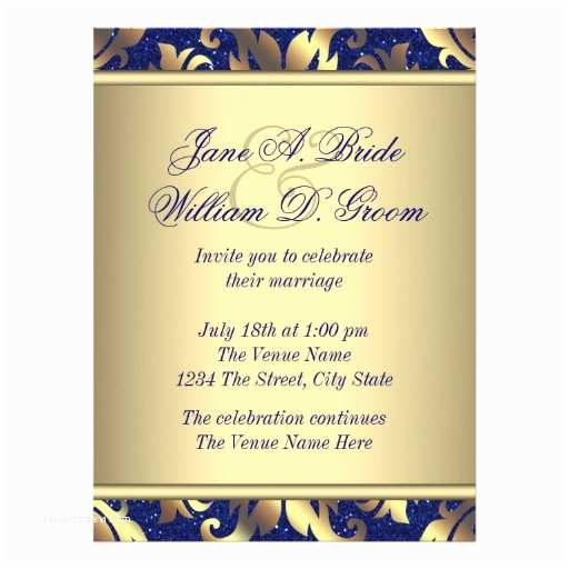 Royal Blue And Gold Wedding S Royal Blue And Gold Wedding Personalized