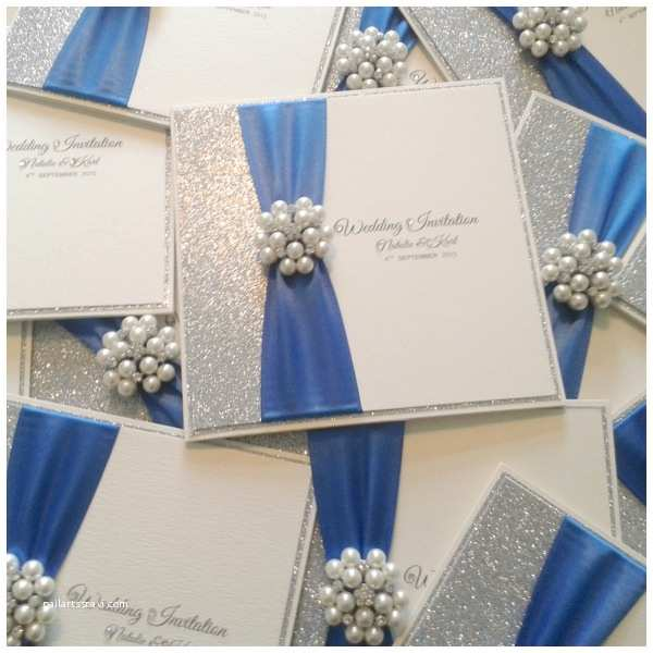 royal blue and silver wedding invitations your wedding invitation with some foxy ornaments 11