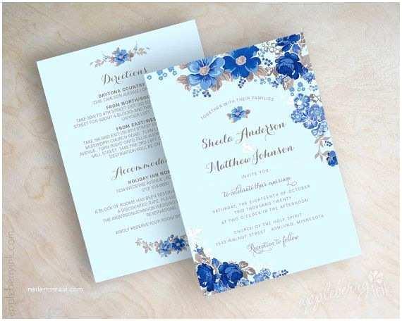 Royal Blue Wedding Invitations 25 Best Ideas About Cornflower Blue Weddings On