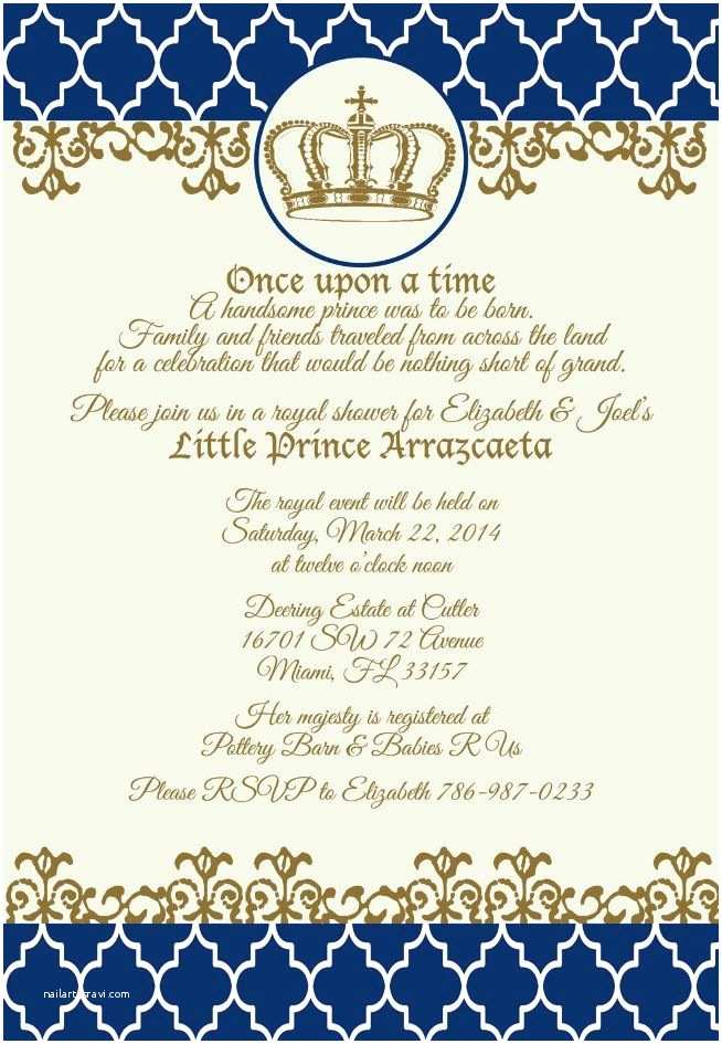 Royal Prince Baby Shower Invitations 49 Best Royal Prince Baby Shower Images On Pinterest