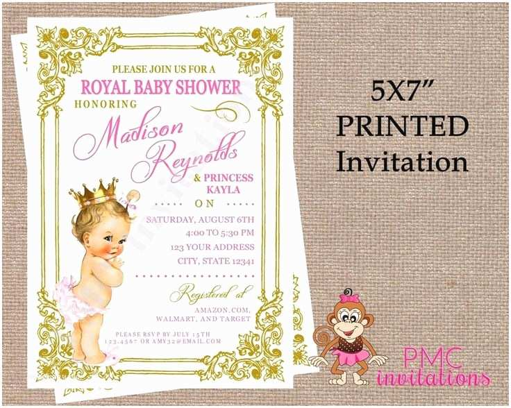 Royal Princess Baby Shower Invitations 16 Best Baby Shower Images On Pinterest