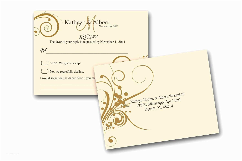 Rsvp Wedding Invitation Blank Wedding Invitation Response Cards Yaseen for