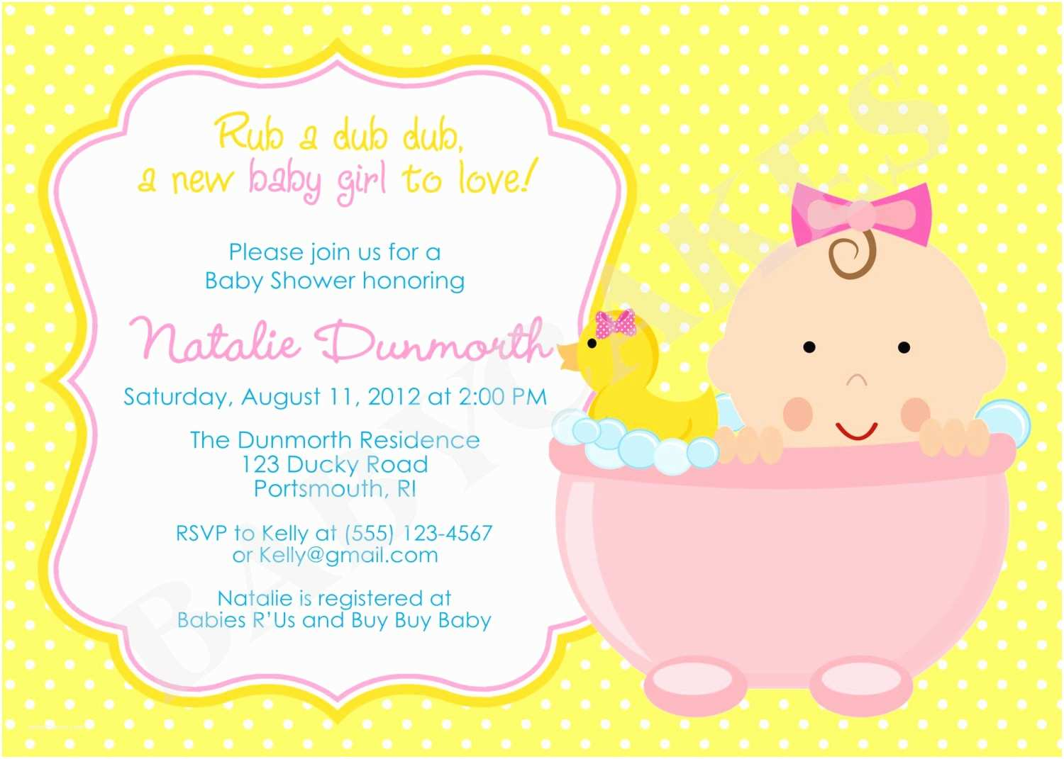 Rubber Duck Baby Shower Invitations How to Plan Rubber Ducky Baby Shower Ideas