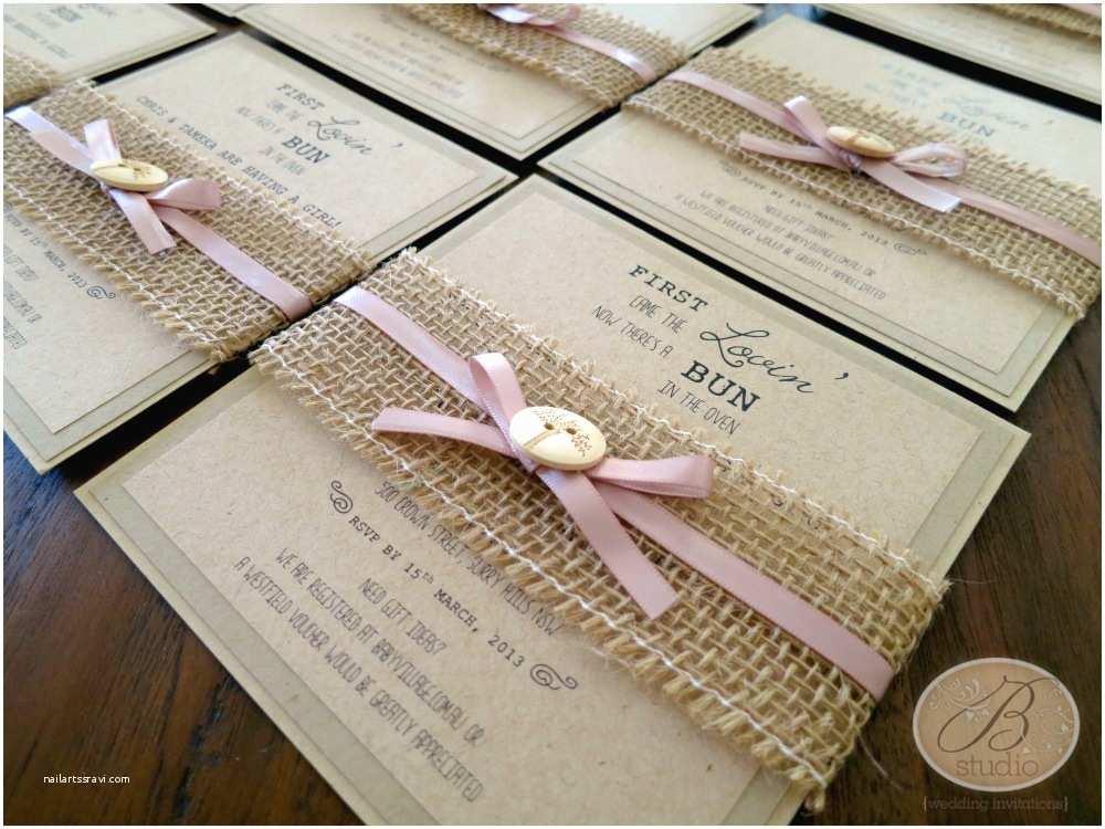 Rustic Baby Shower Invitations Rustic – B Studio Wedding Invitations Style Blog