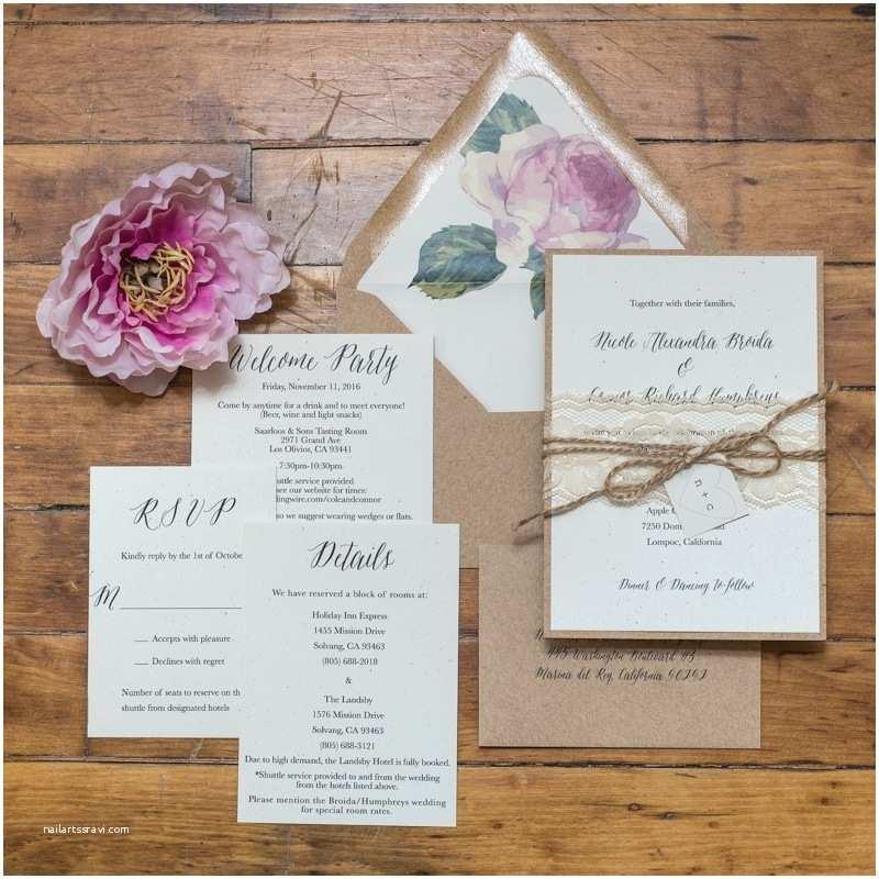 Rustic Chic Wedding Invitations Rustic Chic Wedding Invitations Too Chic & Little