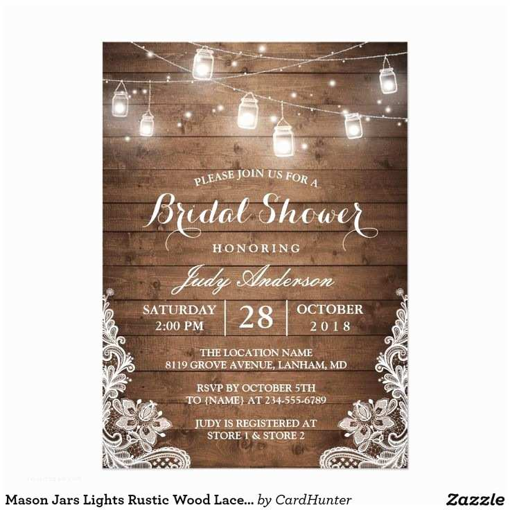 Rustic Country Wedding Invitations 25 Best Ideas About Bridal Shower Invitations On