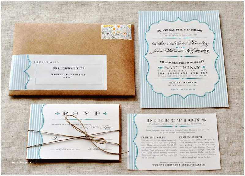 Rustic Country Wedding Invitations Homemade Rustic Wedding Invitations the Easy Ways