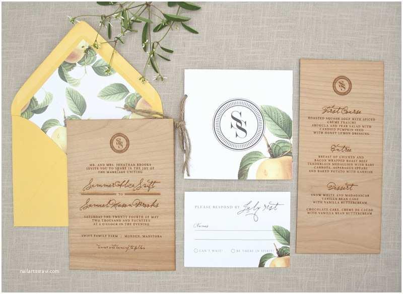 Rustic Elegant Wedding Invitations Elegant and Rustic Wood Engraved Wedding Invitations