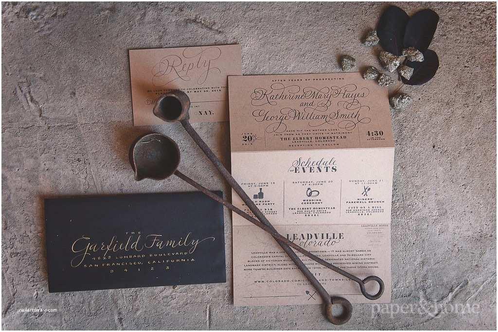 Rustic Elegant Wedding Invitations Rustic Elegant Wedding Invitations Colorado Shoot