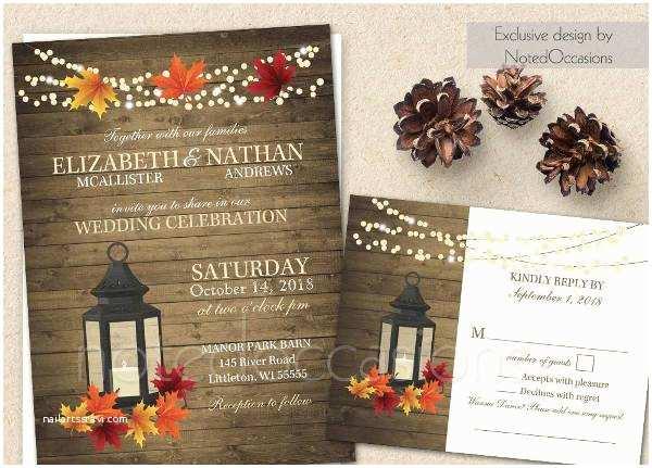 Rustic Fall Wedding Invitations 15 Rustic Wedding Invitations Printable Psd Ai
