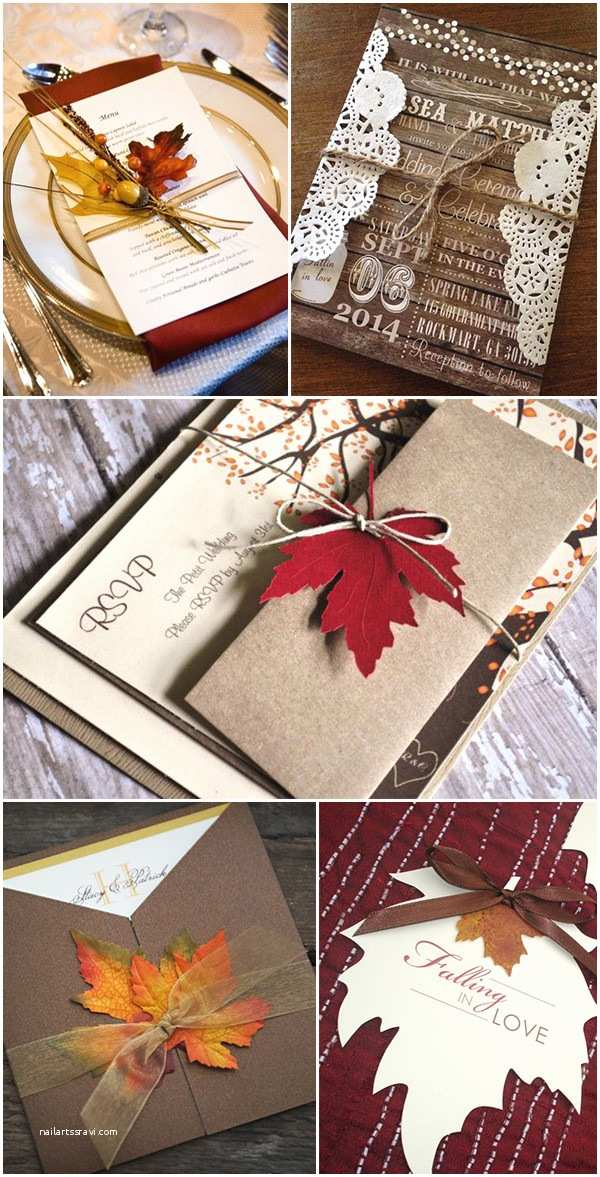Rustic Fall Wedding Invitations Fall Wedding Cakes Archives Oh Best Day
