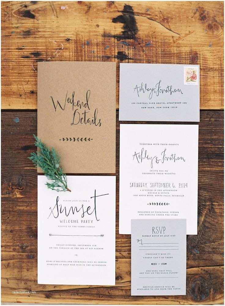 Rustic Garden Wedding Invitations 25 Best Handwritten Wedding Invitations Ideas On