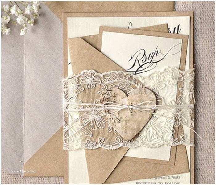 Rustic Lace Wedding Invitations 10 Wonderful Diy Wedding Invitations Kits