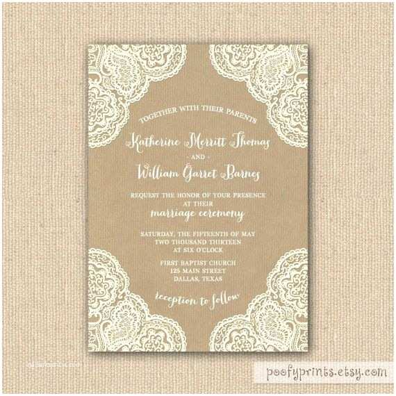 Rustic Lace Wedding Invitations Pinterest Discover and Save Creative Ideas