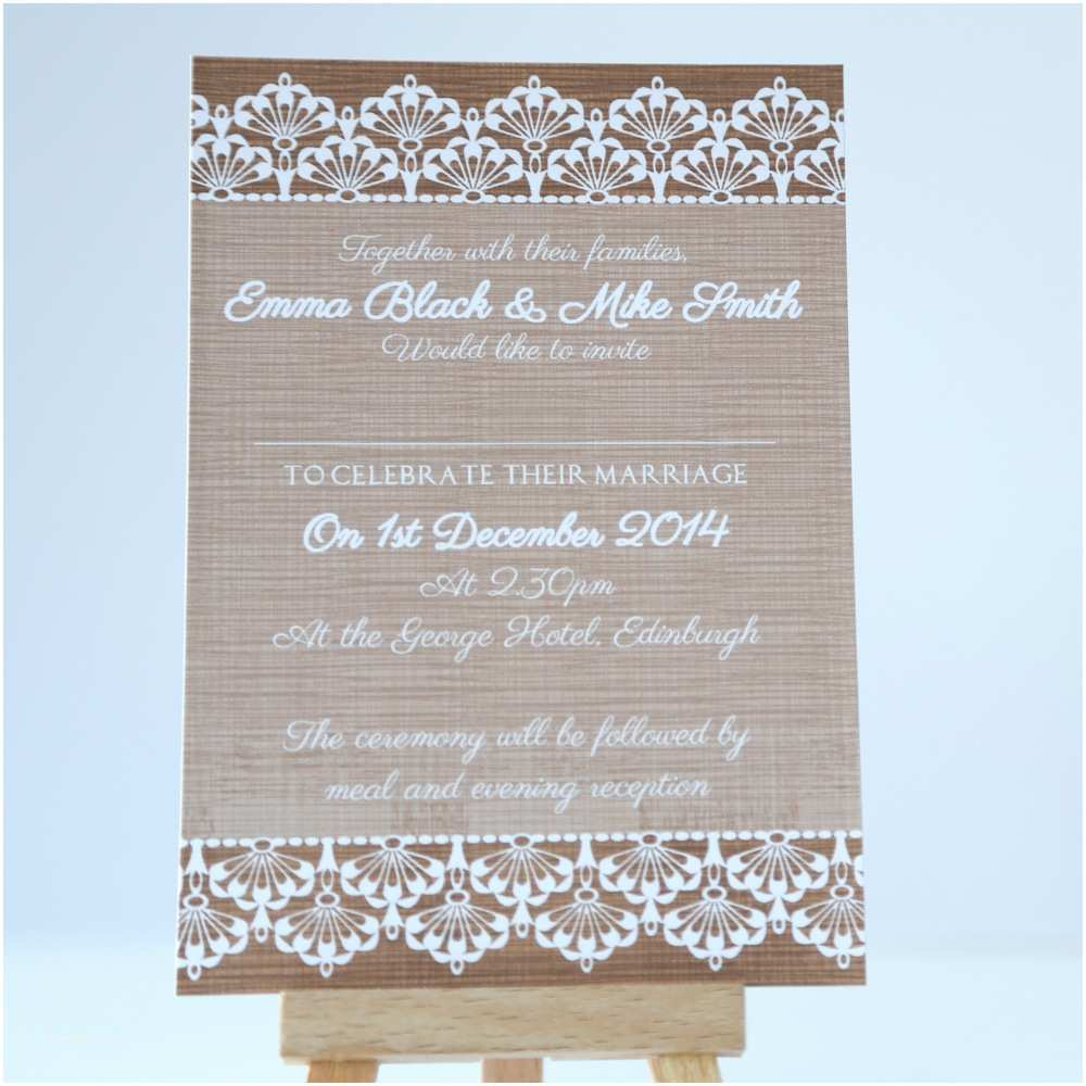 Rustic Lace Wedding Invitations Rustic Vintage Lace Wedding Invitation Vintage Wedding