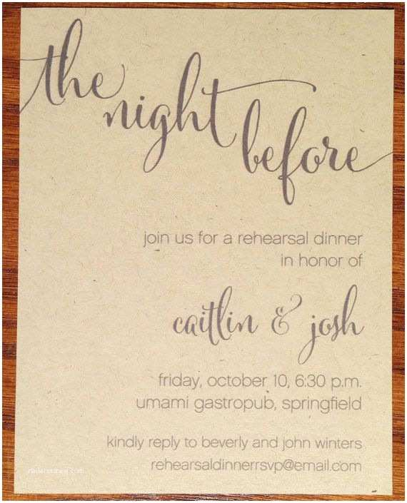 Rustic Rehearsal Dinner Invitations 25 Best Ideas About Dinners On Pinterest