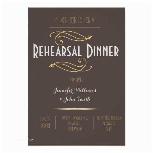 Rustic Rehearsal Dinner Invitations Vintage Rustic Rehearsal Dinner Invitations