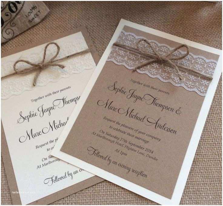 Rustic Vintage Wedding Invitations Diy the 25 Best Ideas About Ivory Wedding Invitations On