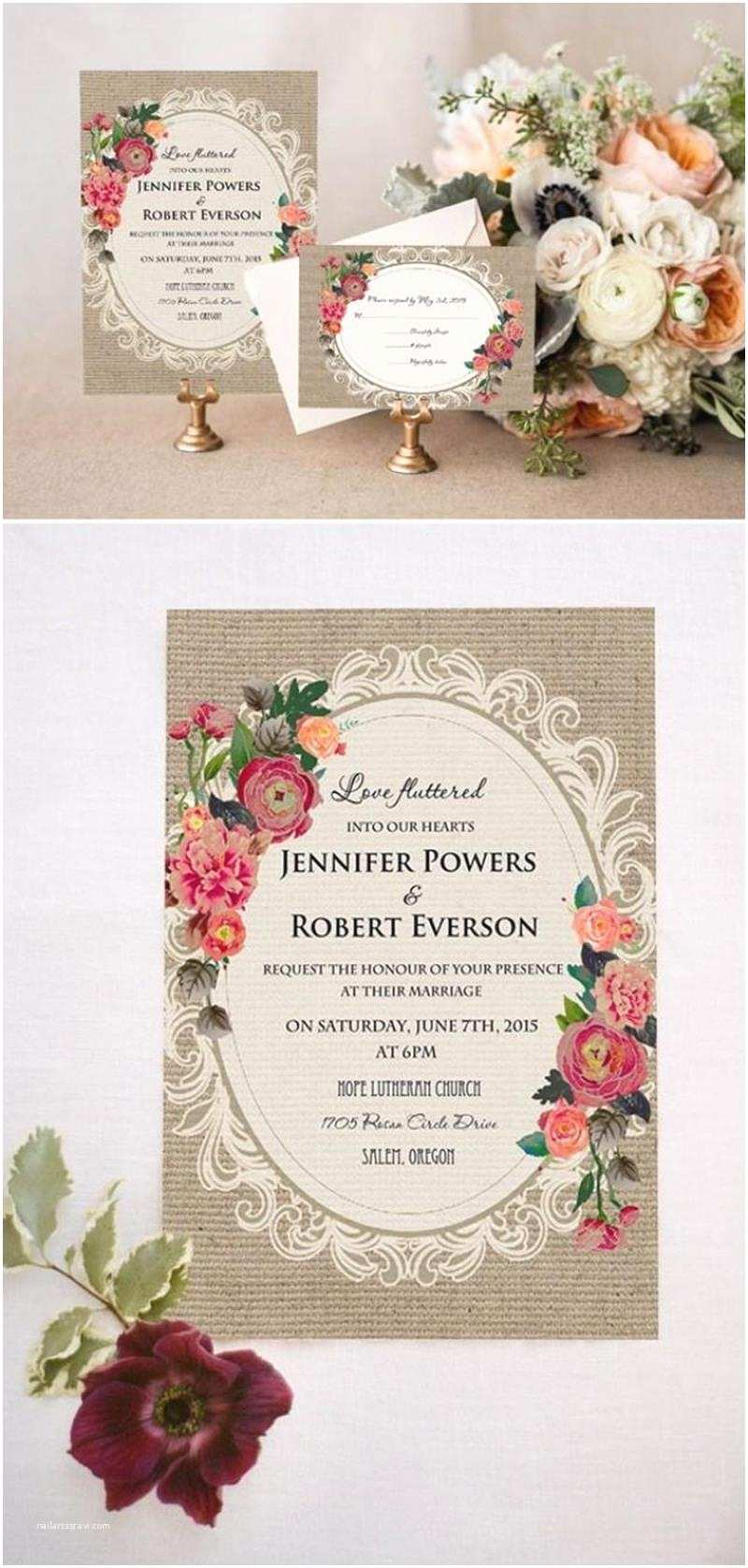 Rustic Vintage Wedding Invitations Rustic Vintage Wedding Invitations 8 Best Inspiration