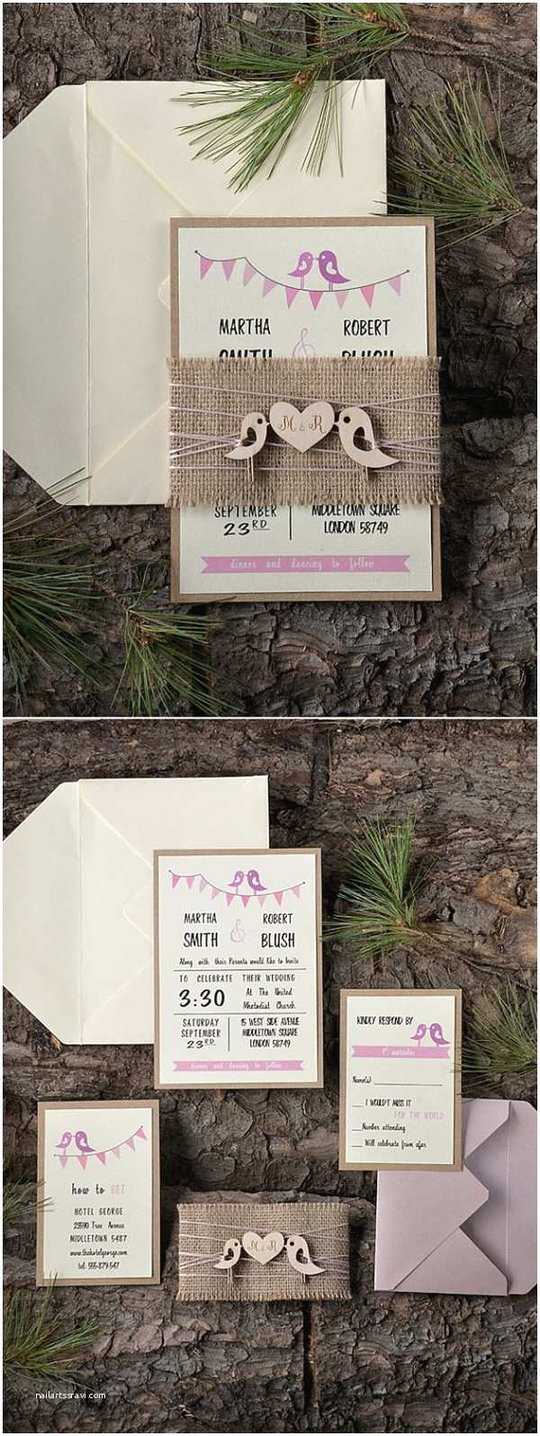 Rustic Wedding Invitation Kits 30 Our Absolutely Favorite Rustic Wedding Invitations