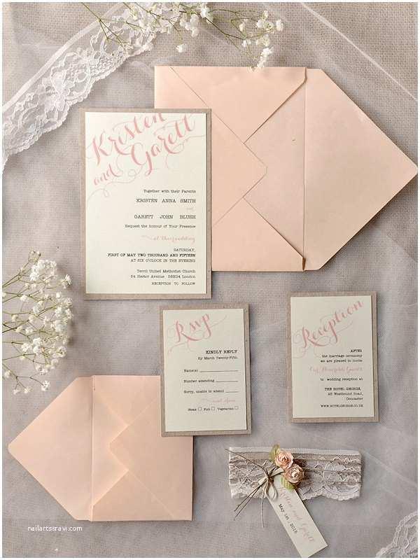 Rustic Wedding Invitation Kits Mod Finds Rustic Chic Wedding Invitations Modwedding