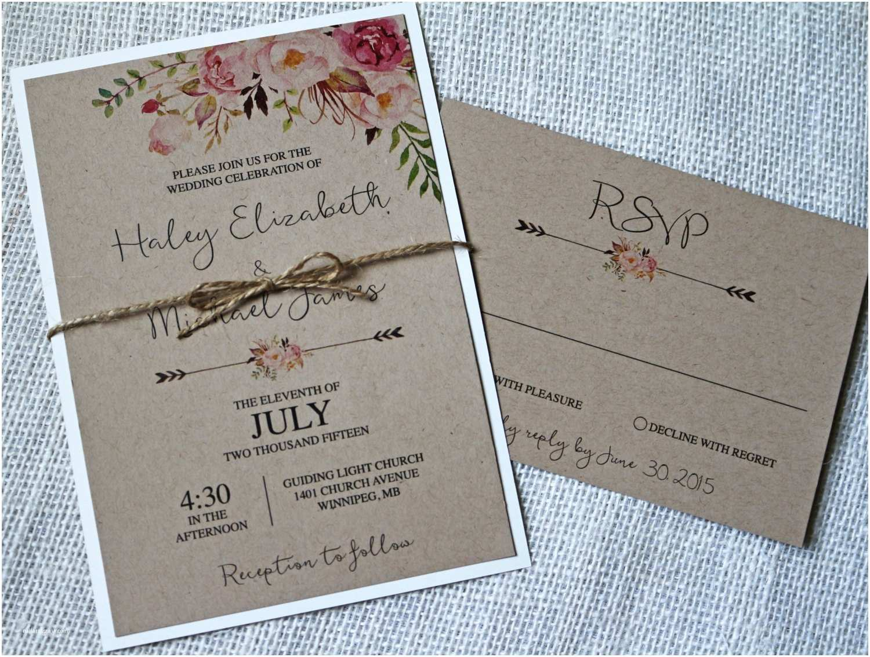 Rustic Wedding Invitation Kits Rustic Wedding Invitation Kits Canada Matik for